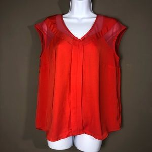Kut from the Kloth Mesh/Fabric Blouse